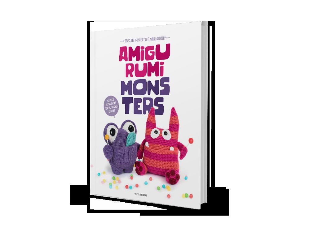 Amigurumi monster free pattern | Amiguroom Toys | 750x1000
