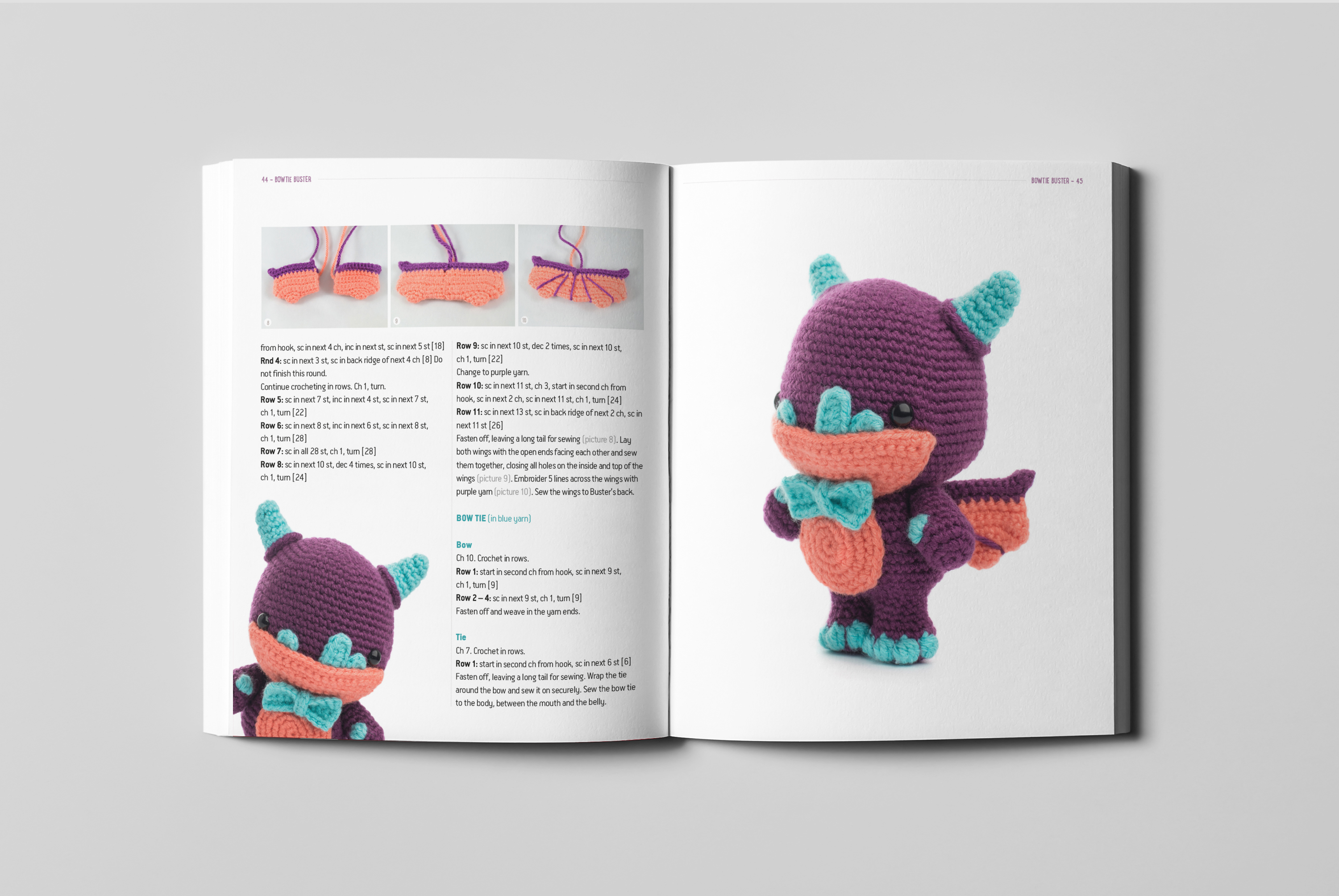 Crochet Amigurumi Baby Monsters with CraftyisCool / Magic Ring ... | 2008x3000